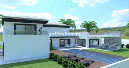 Good size Villa plot with approved project and...